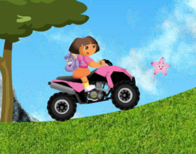 Dora no Quadriciclo