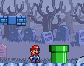 Super Mario Bros Ghost Island